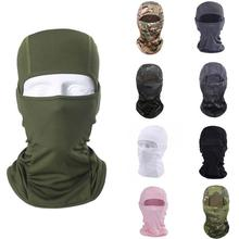 лучшая цена Pure Color Men Bandanas Airsoft Mask Tactical Balaclava Windproof Breathable Airsoft Paintball Face Mask Bicycle Tactical Hats
