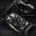Caso de telefone luxo metal para iphone 7 7 plus 5S 6 6 s 6 plus caso capa de proteção do braço mecânico para iphone 7 caso