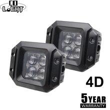 CO LIGHT Led Work Light 12V 4D 3inch Offroad Led Bar 20W Spotlight DRL Fog font