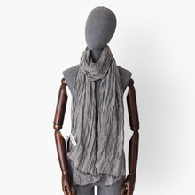 striped cotton linen thin scarves women men wrinkled voile scarf lady fashion neck warmer shawl wraps unisex hot sale hot sale dot and tassels embellished voile scarf for women