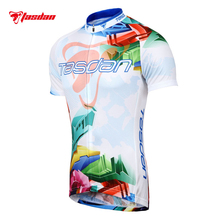 Tasdan Men High Quality Short Sleeve Cycling Jersey Custom Bike Cycling Bicycle Cycling Clothing