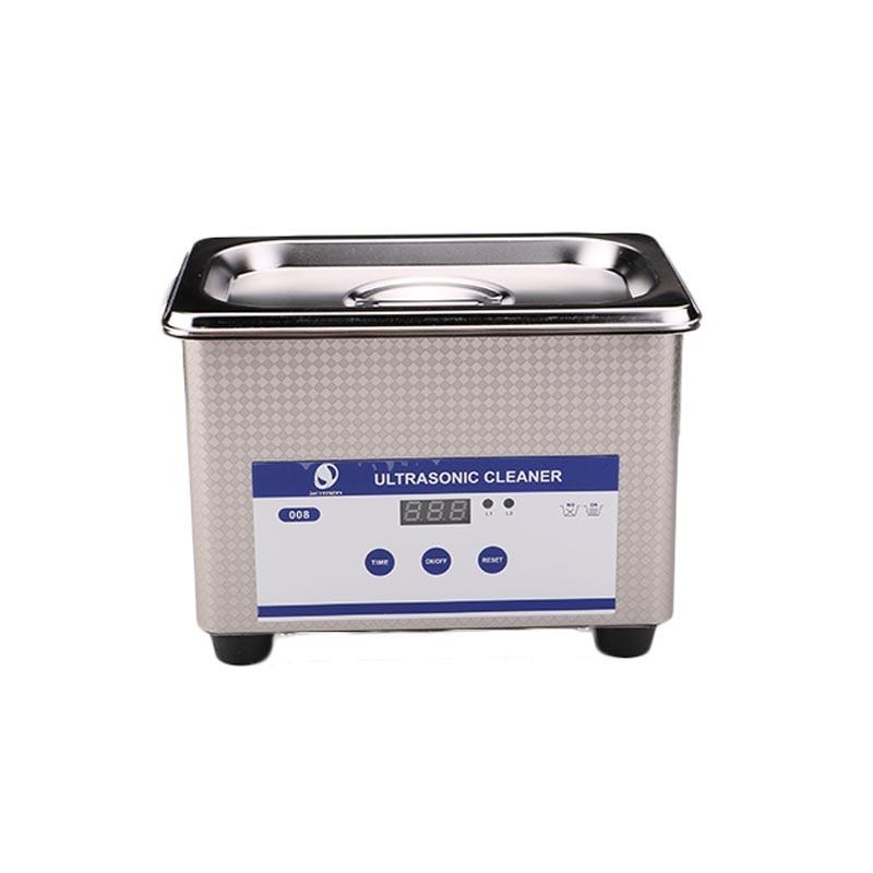 Haute Qualité Bijoux Clair Machine 800 mL Numériques À Ultrasons Bain Montres Lunettes Rapide Matériel De Nettoyage US EU Plug SL