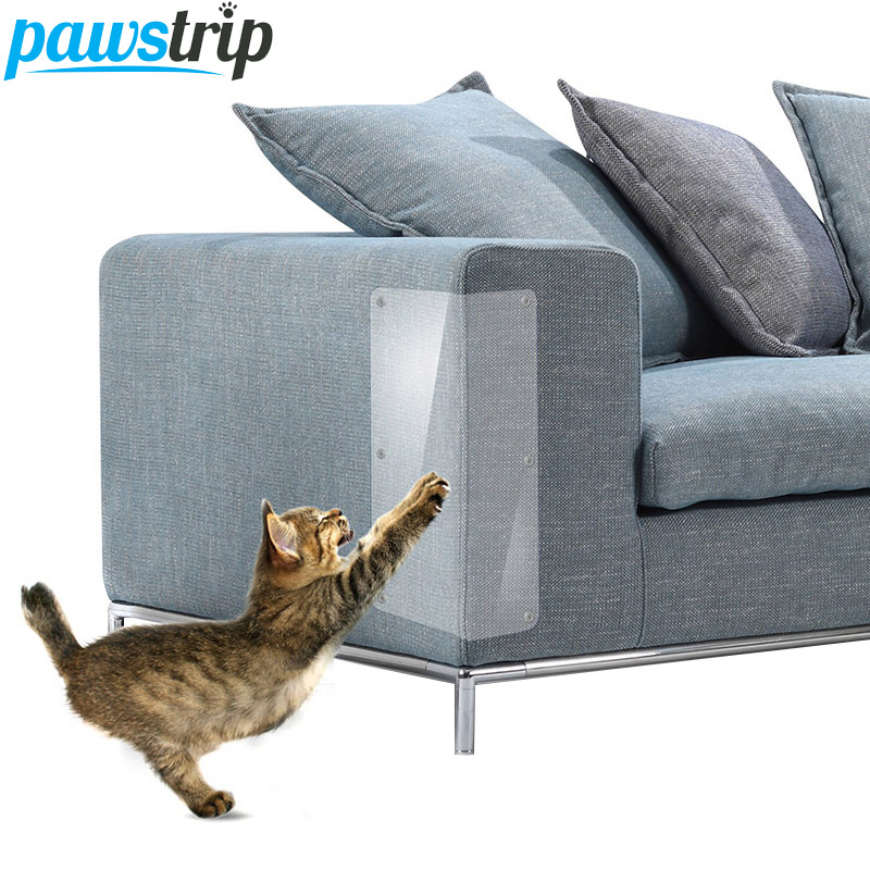 Cat Supplies Honest Pawstrip 2pcs/set Sofa Cat Claw Protector 47*15cm Protect Pads Cat Scratching Post Furniture Protective Cover For Leather Chairs Pet Products