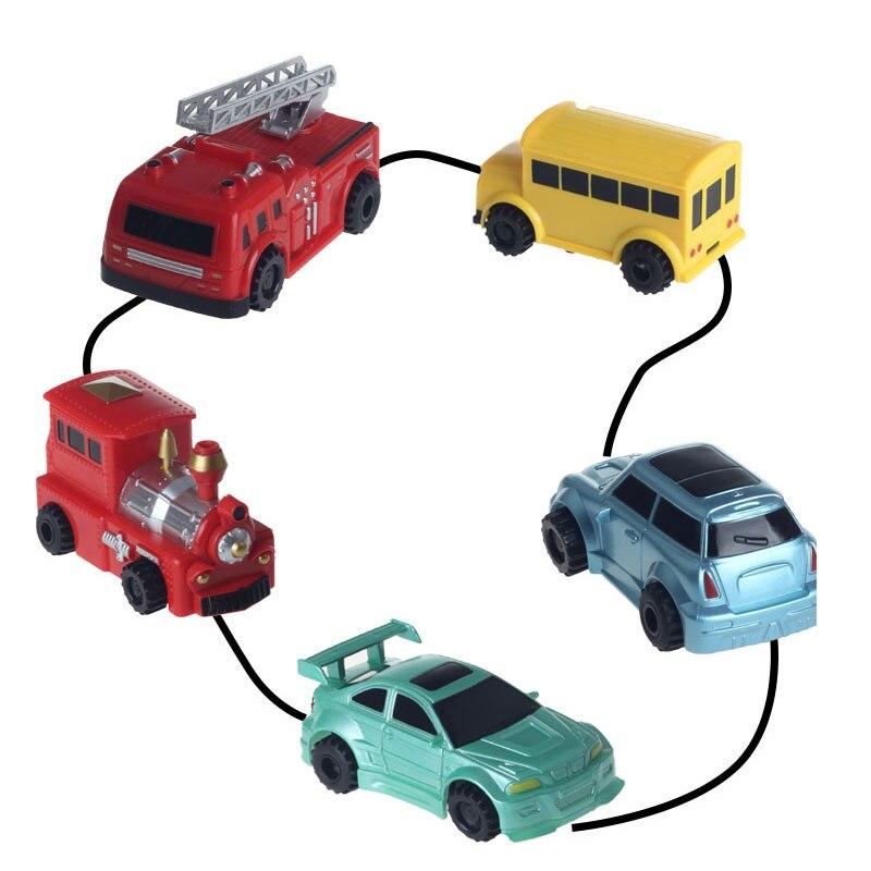 Brinquedos de pista mágica tanque indutivo modelo de carro robô pinguim seguindo por linha você desenhar inteligência desenvolvimento brinquedo do miúdo