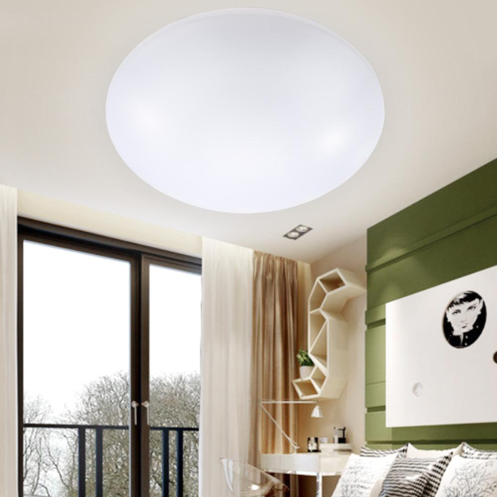 Led Ceiling Lights Dia 260mm Acrylic Bright Cool White 20w Modern Fixture Lamp Livingroom Kitchen Bedroom Balcony Light A391