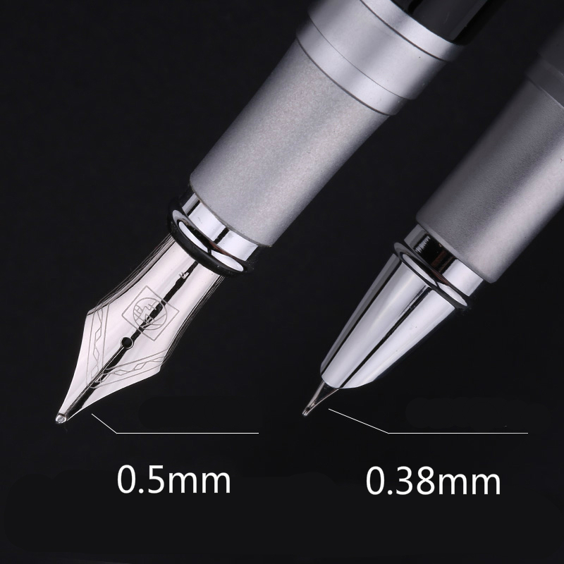 Picasso Art Palace Fountain Pen 0.38mm /0.5mm Signing Pen Calligraphy Pen X15 Gift Box Business Students Stationery Supplies picasso pen 916 ma 0 38 students practice calligraphy pen lagat fine fountain pen