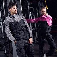 Women Heat Hot Sweat Jacket Running Jogging Sports Yoga Sportswear Fitness Exercise Gym Jacket Clothes Long Sleeve Tops