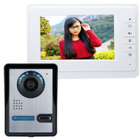 Clearance SY819FA11 7 Inches HD Doorbell Camera Video Intercom Door Phone System With Monitor US UK