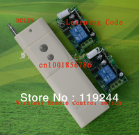 DC12V 1CH RF Digital Remote Control Switch 315MHZ 433MHZ High Power Transmitter And Receiver Automatic Sliding
