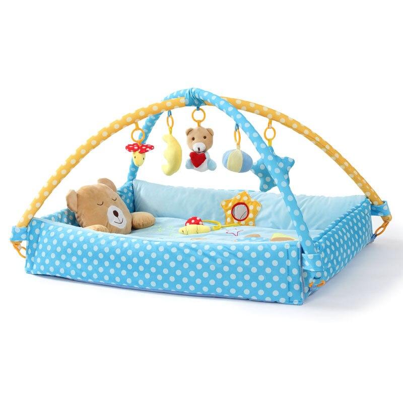 Tapis de jeu bébé tapis pour enfants tapis de sol garçon fille tapis de jeu tapis de jeu tapis d'activité bébé pour enfants jouet éducatif loisirs JH-778524A - 3