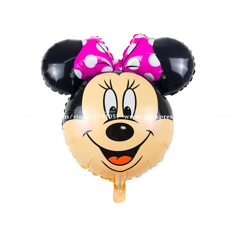 10 pcs/lot cute minnie balloons Birthday Party mickey Balloons Mouse Balloon Wedding Decoration Kids Gift ClassicToy