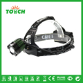 Cree T6 Waterproof headlamp Zoomable  lampe frontale 3 mode Tactical flashlight with 18650 Battery for Camping Hunting