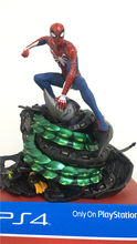 19cm Anime figure the avanger spiderman statue Scenes action figure collectible model toys for boys(China)