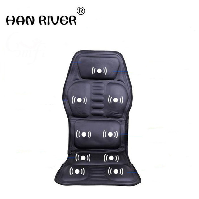 Household Car Multifunctional Massage Cushion For Leaning On Of Seat Heating Cervical Back Hip Massager