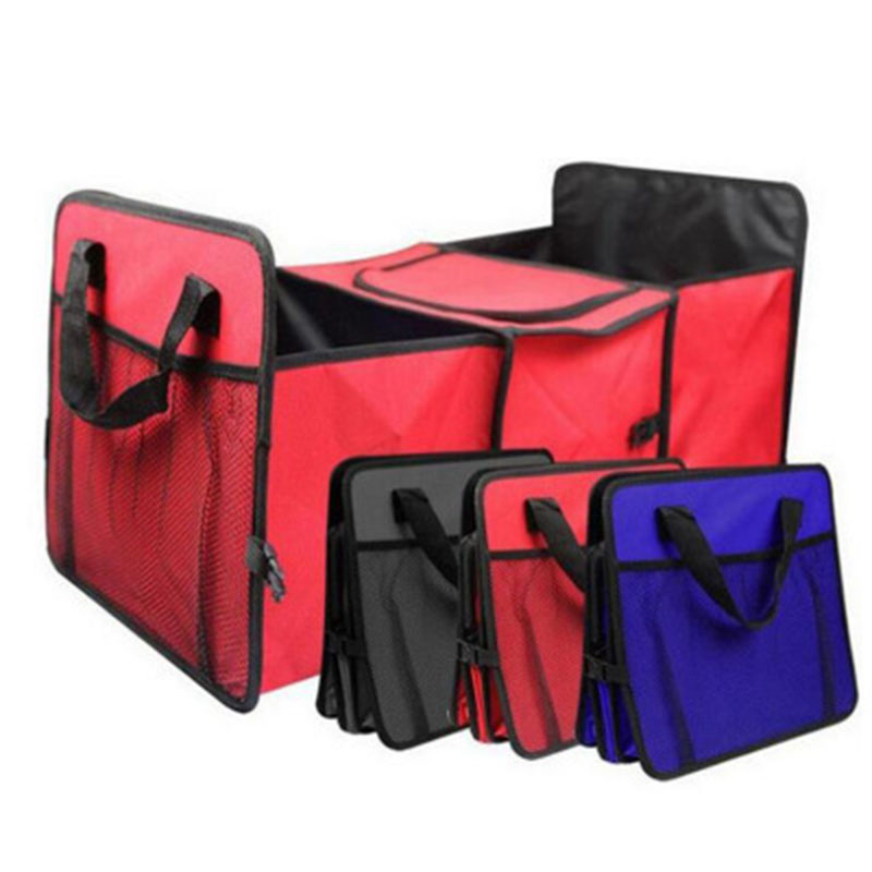 Car Organizer Trunk Box Bag Toys Food Storage Truck Cargo Container Bags Box Automobile Stowing Tidying