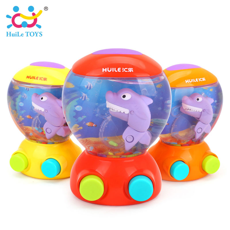 HUILE TOYS 3110 Baby Bath Toys Water Toys Shark Fish Hunt Toy Kids ...