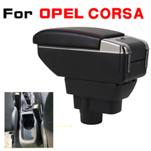 Leather Car Armrest For OPEL CORSA Arm Rest Rotatable saga leather car armrest for kia null kx1 arm rest rotatable saga