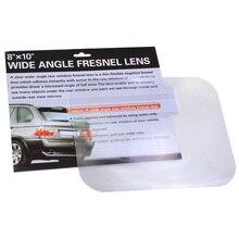 1Pcs Wide Angle Fresnel Lens Car Parking Reversing Sticker Reverse Helper Useful Enlarge View Angle Fresnel Lens High Quality