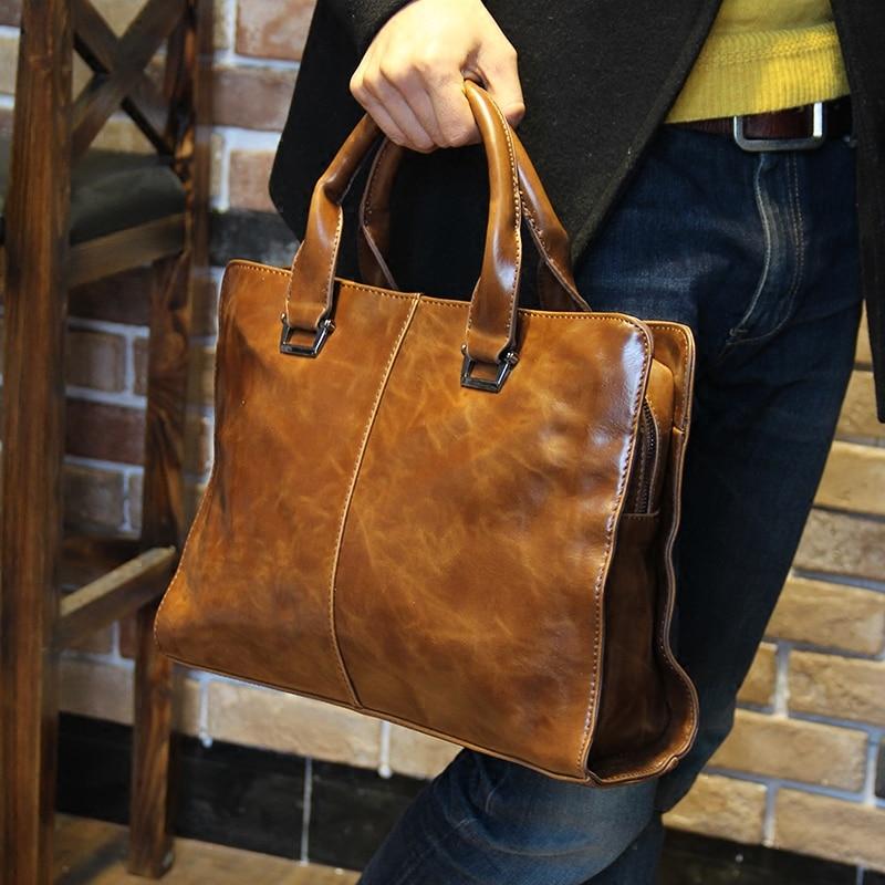 51e32eb26d16 Tidog Korean male Bag Handbag Shoulder Bag men business bag-in Top-Handle  Bags from Luggage   Bags on Aliexpress.com