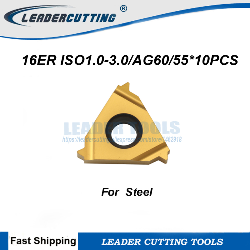 SUPER 10P 16ER 1.5ISO SMX30 CNC lathe Threading Turning   Carbide Inserts