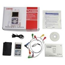 Contec производитель доставка 12 каналов Contec TLC5000 ручная ЭКГ/ЭКГ Holter контрольное записывающее устройство система CE FDA сертифицировано