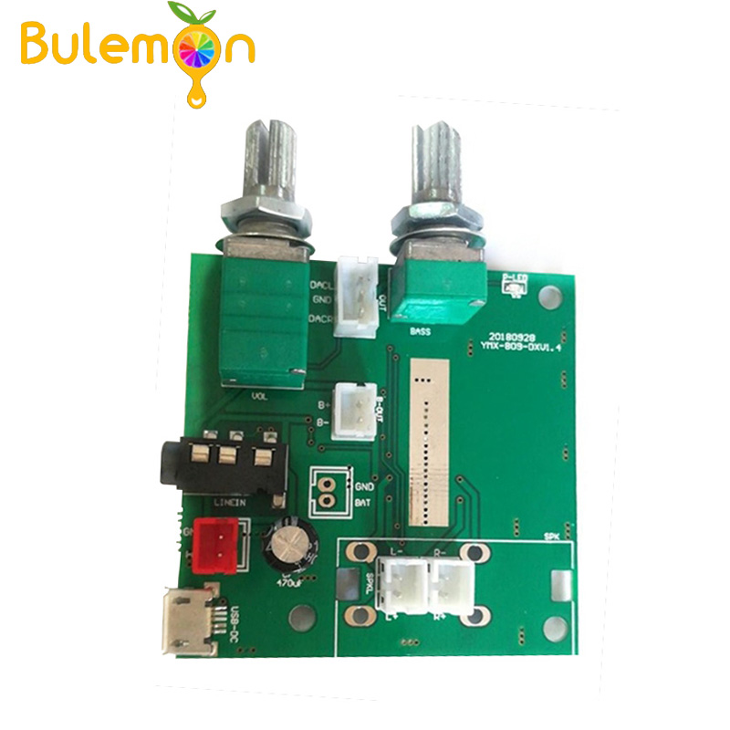 2pcs/lot 5.0 Bluetooth 5V 2.1 Channel Stereo Digital Amplifier Audio 2.1 Power Amplifier Board Audio Amplifier Board image