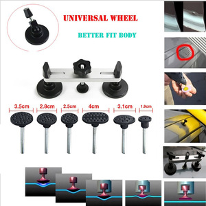 Image 3 - Furuix  Auto Body Paintless Dent Removal Tools Kit Dent Lifter Bridge Puller Set For Car Hail Damage And Door Dings Repair