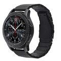 V-moro 22mm pulseira de aço inoxidável para a engrenagem s3 smart watch substituição faixa de relógio pulseira para engrenagem s3 clássico fronteira