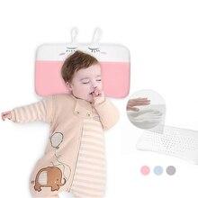 Honeylulu Pleuche Baby Shaping Pillow Memory Foam Elasticity Breathable For Newborns Kids Room Decoration