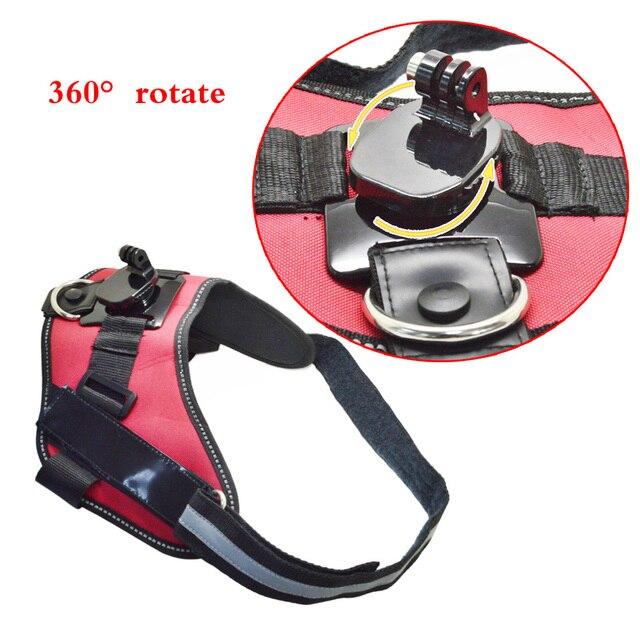 Новое поступление аксессуары Серии B 360-градусный Вращающийся Собаки Жгут Крепление для GoPro Hero 4S 4 3 + 3 2 1 GP365B