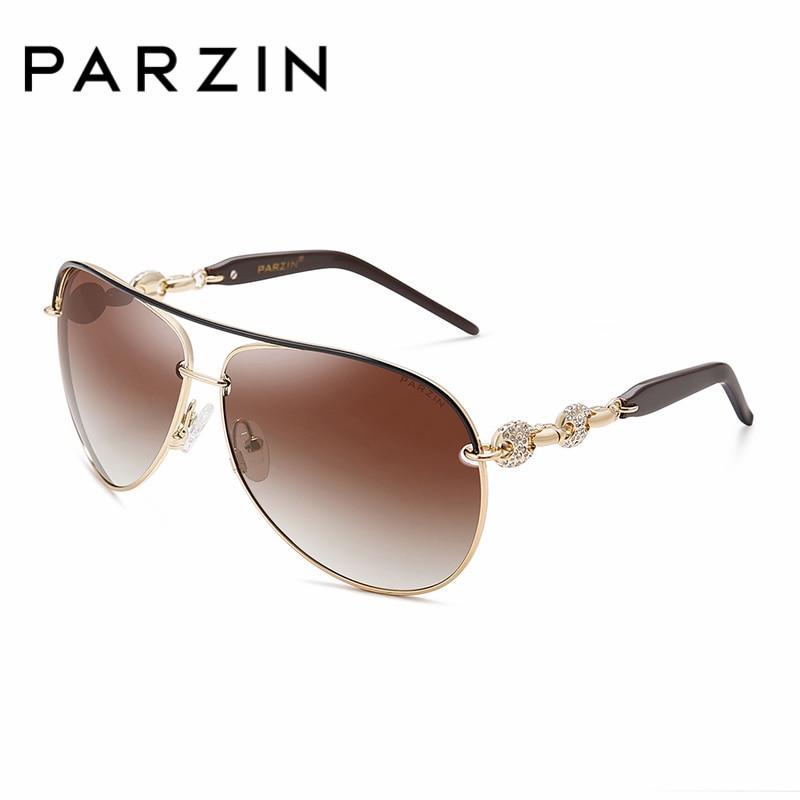 PARZIN De Luxe Diamant Polarisé Femmes Lunettes De Soleil Élégant - Accessoires pour vêtements - Photo 3
