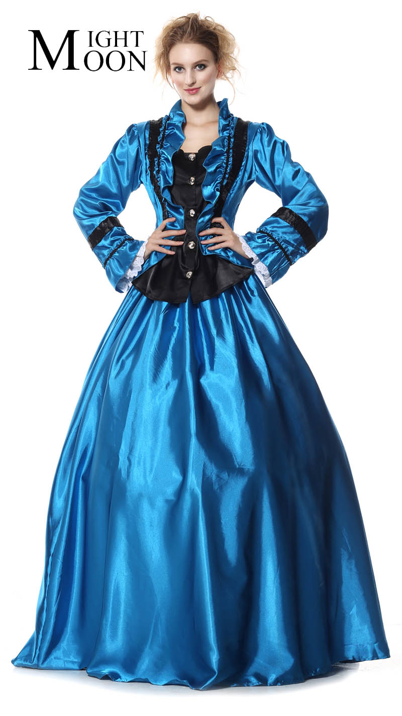MOONIGHT Fancy Fairy Cosplay Woman Halloween Queen Costume Carnival Christmas Masquerade Party Coat+Skirt