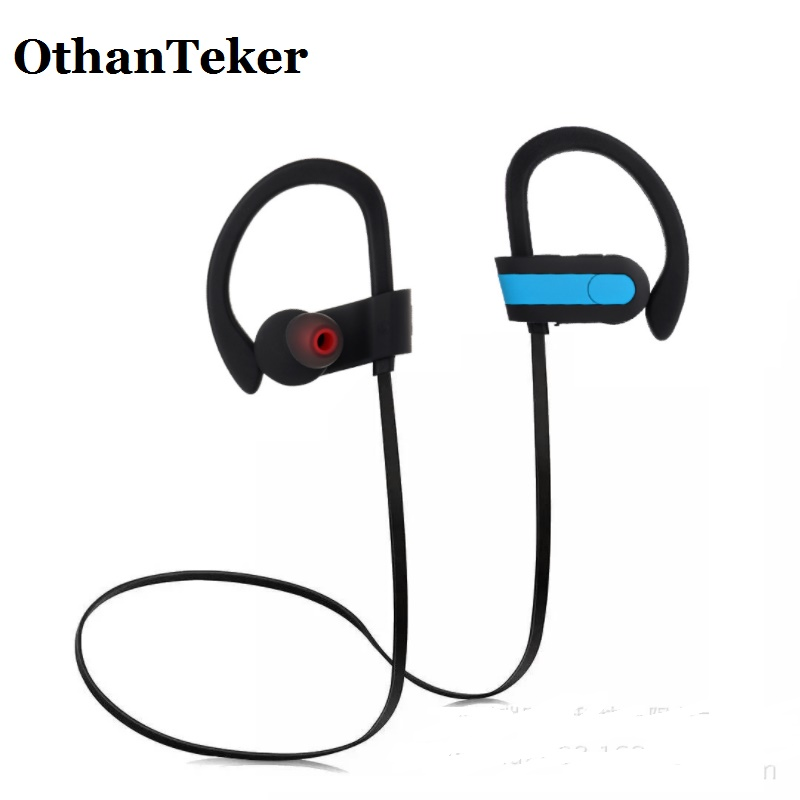 Wireless Bluetooth Stereo Headphone with Mic Sports Music Headset Running Earhook in-Ear Earphone for Phone Huawei Xiaomi