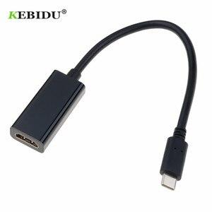 Image 2 - Adapter usb C do hdmi 4K typ C 3.1 wtyk męski do hdmi żeński Adapter kablowy konwerter do Samsung S9/8 Plus HTC HUAWEI LG G8