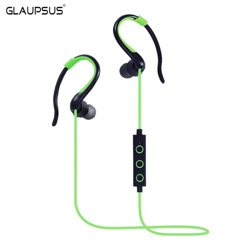 buy original glaupsus bt 51 in ear bluetooth headphone wireless sport earphones. Black Bedroom Furniture Sets. Home Design Ideas