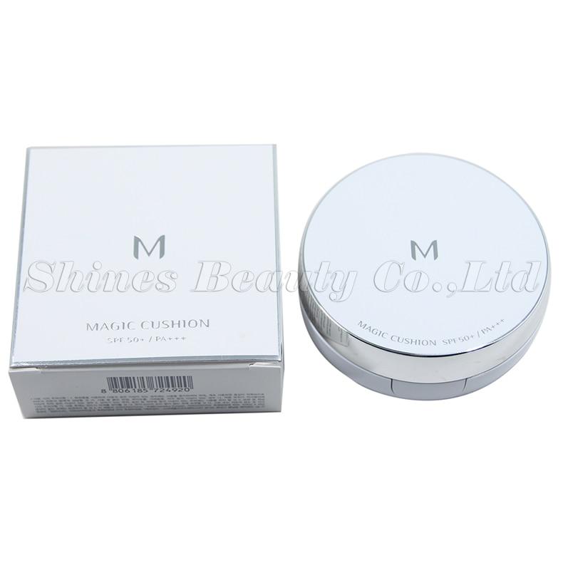 Korean cosmeticsmagic BB cushion cream makeup moisture SPF50+ (No Refill )cushion 15g whitening flawless air BB cream