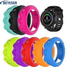 Light-weight Smart Protector Case Silicone Skin Protective Cover For Garmin Fenix 3/3HR Sports Watch 8 colors