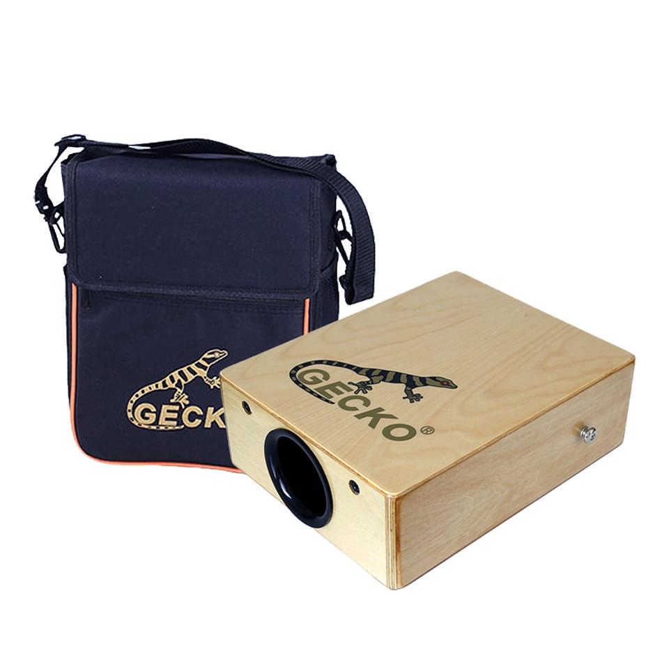 GECKO Cajon  C-68   Zebra Wood  Natural  95*230*290mm