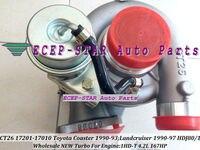 CT26 17201-17010 17201 17010 Turbo Turbocharger Para TOYOTA Landcruiser HDJ80 HDJ81 1990-97 COASTER 1990-93 1HD 1HD-T 1HD-FT 4.2L