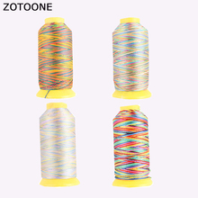 ZOTOONE Spool Sewing Threads Jeans Cheap Machine Polyester Embroidery Sewing Thread Colorful Sewing Accessories Quilting Threads death threads