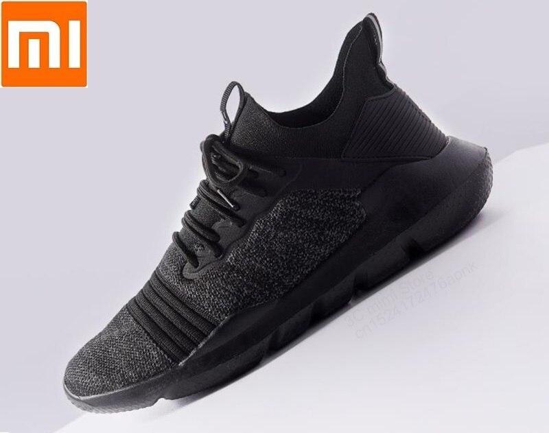 Xiaomi Uleemark lightweight casual shoes woven upper Breathable mesh shock absorption Walk Non slip for men