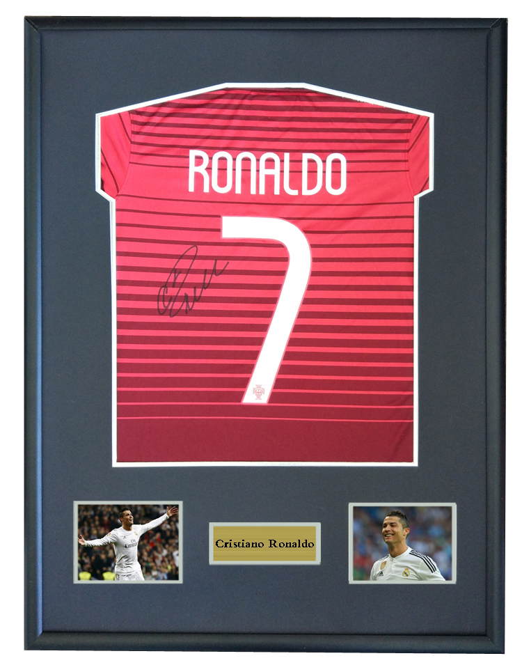 e8fadad511d Detail Feedback Questions about Cristiano Ronaldo signed autographed soccer shirt  jersey come with Sa coa framed Portugal 2014World Cup on Aliexpress.com ...