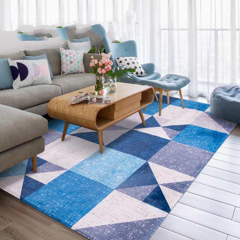 Thick Living Room Carpet Big Simple Floor Mat Yoga Mat Kid & baby crawling mat Bedroom Rug And Carpets For Home & Bedside Decor