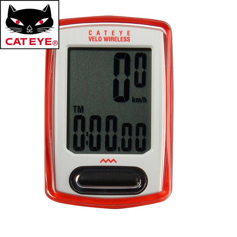 CATEYE Bicycle Computer CC-VT230W Velo Wireless Cycling Speedometer Waterproof Multifunction Bike Computer Stopwatch 3 Colors
