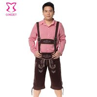 Oktoberfest Games Party Bavarian Beer Man Role Playing Outfit Halloween Costume For Men Sexy Cosplay Costumes