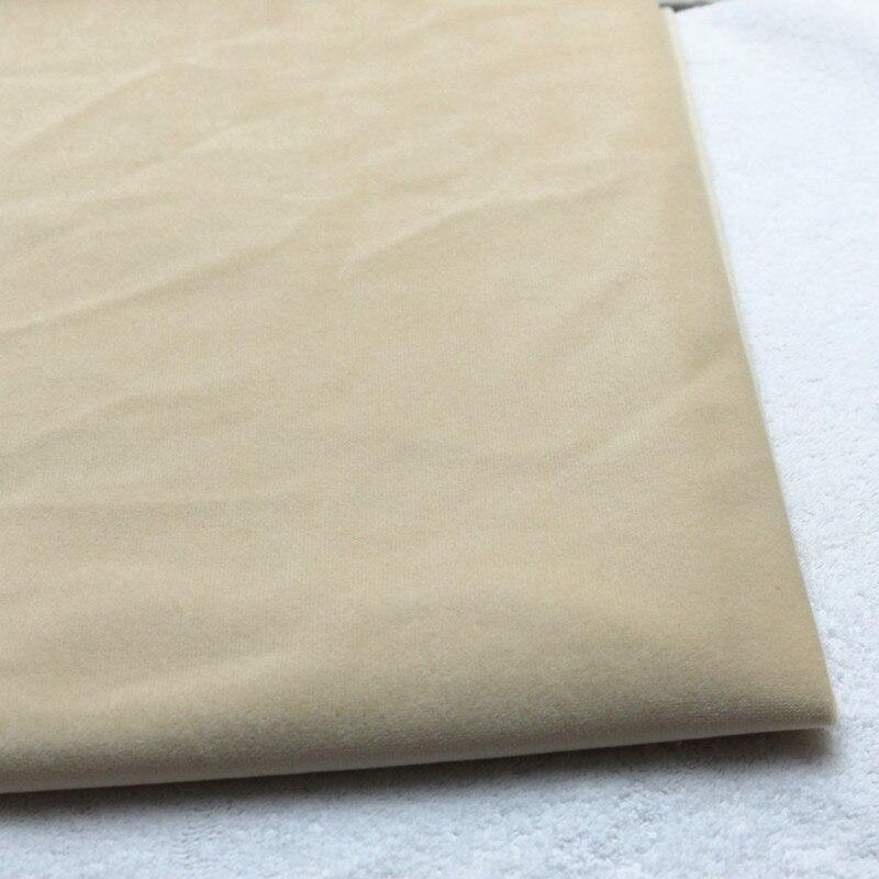 Minky doux bricolage poupée peau Tissu de haute qualité polaire velours tissus en peluche Tissu pour Costura couture trucs jouet tricot sieste Telas Tissu