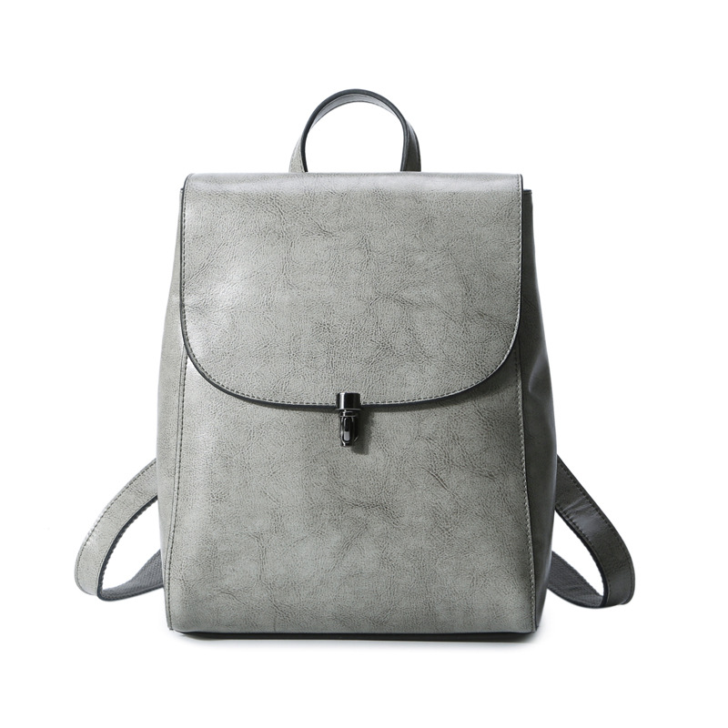 Genuine Leather Backpacks For Girls Travel School Leather Bag Women Leather Backpack Designer Bags Famous Brand Women Bags 2018 vieline genuine leather women backpack famous brand lady leather backpack leather school bag free shipping