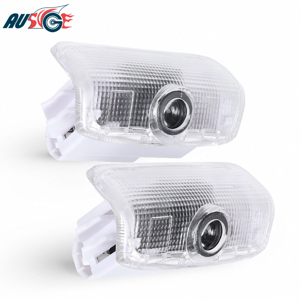 2x LED Car Door Light Welcome Logo Light For <font><b>Infiniti</b></font> Q50 Q70 <font><b>QX70</b></font> QX80 <font><b>FX37</b></font> <font><b>FX35</b></font> G37 G25 M25 M35 M37 EX25 EX35 EX37 Accessories image