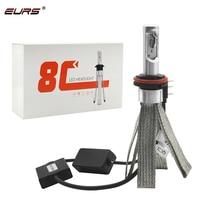 2pcs High Power 8C LED Light Canbus 80W 8000LM H4 LED Bulb H7 LED Headlight H1 H11 H8 H15 9012 HB3 HB4 HB5 LED Head Lamp Kit