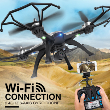 5.8G FPV RC Quadcopter With 2MP Camera rc drone H25 2.4GHz 4CH 6-axis Gyro RC Quadcopter One Key Return CF Mode 360 Eversion toy